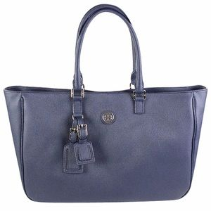 NWT Tory Burch Roslyn Tote Navy
